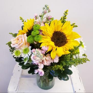 Spring Sunshine Floral Arrangment