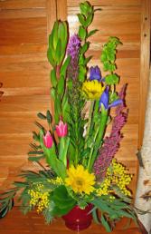 Spring Sunshine Fresh Arrangement