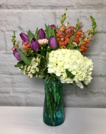 Spring Surprise  Featuring Local Tulips