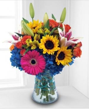 SPRING SURPRISE Vase Arrangement in Longview, TX | ANN'S PETALS