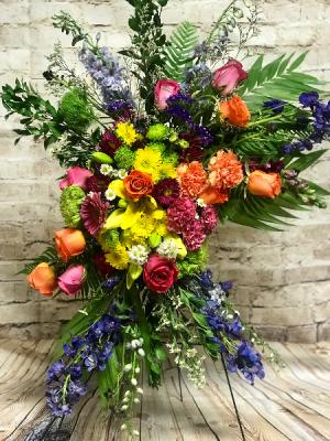Spring Sympathy Spray Spray in Wilkes Barre, PA   Kelly Ann's Floral