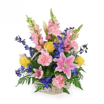 SPRING TIME BOUNTY floral arrangement