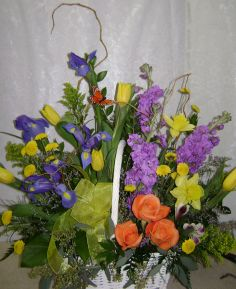 Spring Time Thoughts Funeral Flowers