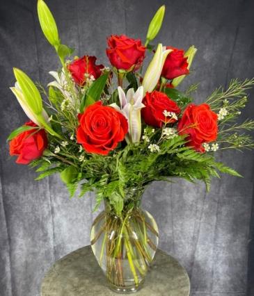 Spring to Summer Vase Arrangement