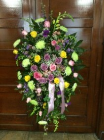 Spring Tributes Standing Spray