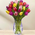Spring Tulip Vase Arrangement