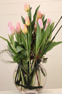 Spring Tulips Fresh Arrangement