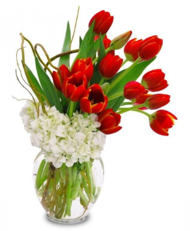 Spring Tulips Vase Design