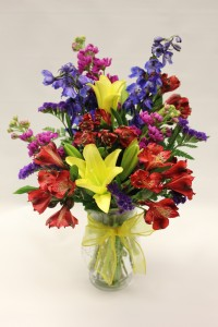 Spring Vase Arrangement