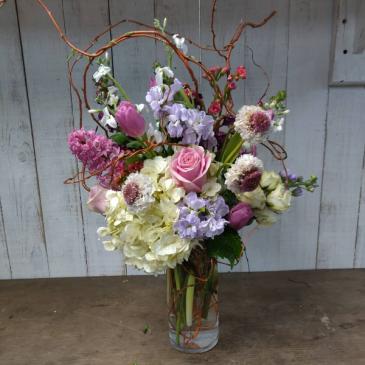 Spring Vase Custom