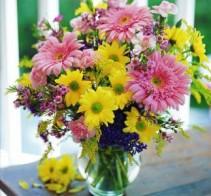 Seasonal Vase of Flowers Designer's Choice