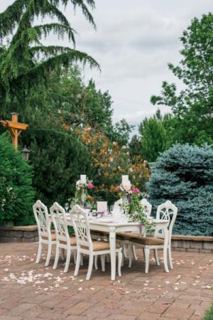 Spring Wedding Reception Table