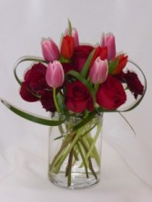 FLORISHING TULIPS - Roses and Tulips Spring Flowers, Fresh Flowers, I Love You Flowers, Just Because I Care