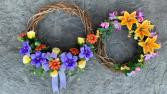 Spring Artificial Door Wreath