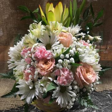 Springing Softly Fresh Flowers