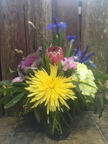 Springing Up Hope Vase Arrangement