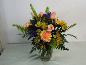 Lasting spring mix vase of seasonl flowers in high springs fl lasting spring mix vase of seasonl flowers mightylinksfo