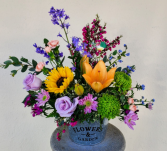 Springs Flower Garden Arrangment