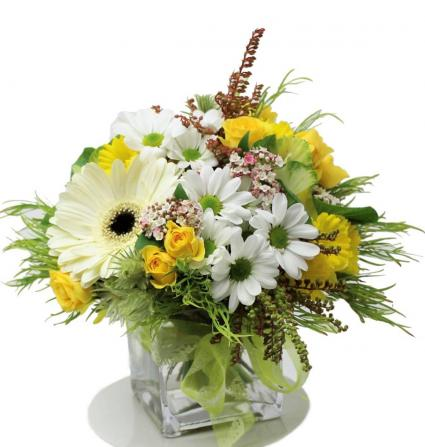 Springtime Small Vase  Small Spring Vase
