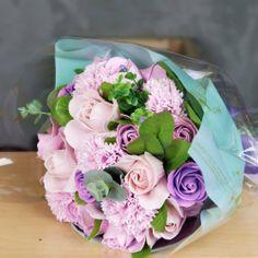 Springtime Bouquet Wrapped Bouquet