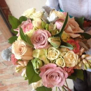 Springtime Chique Botanique  Handtied Bouquet
