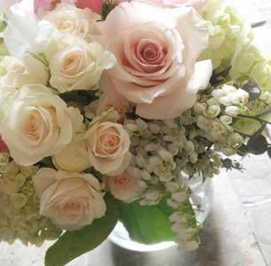 Chique Botanique Springtime Vase Arrangement