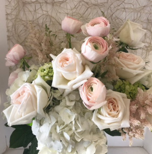 Springtime Elegance Vase Arrangement in Northport, NY | Hengstenberg's Florist
