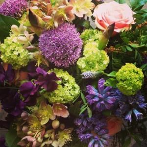 Springtime Garden Handtied Bouquet  in Toronto, ON | BOTANY FLORAL STUDIO