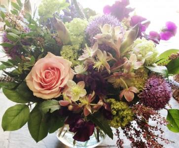 Springtime Garden Vase Arrangement