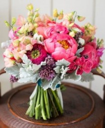 Springtime in May Bridal bouquet