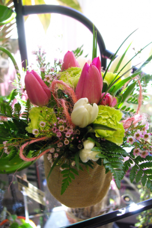 Springtime in the Country Fresh cut arrangement in Corner Brook, NL | The Orchid