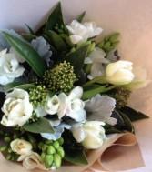 Springtime Monochromatic  Handtied Bouquet