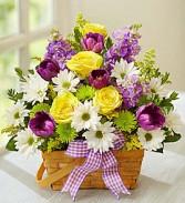 Springtime Wishes Bouquet Spring arrangement