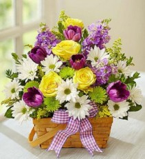 Springtime Wishes  Fresh Arrangement