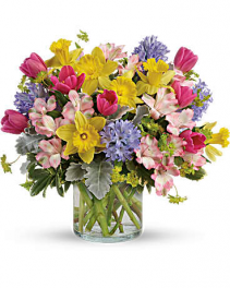 Springtime's Here Bouquet Arrangement