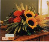 Square Mounded Arrangement Fall