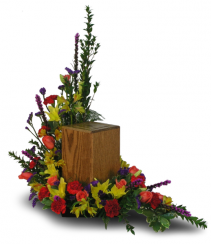 Square Urn Arrangement (urn not included)