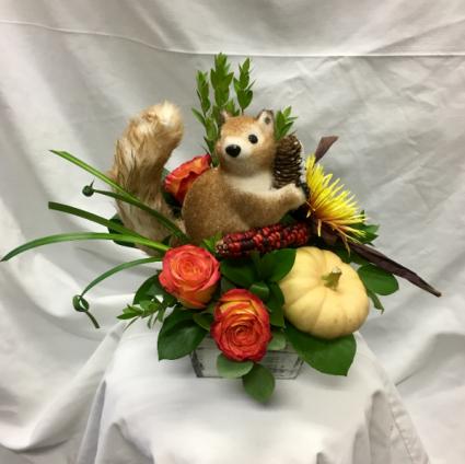 Squirrel!!! Fresh Floral Design