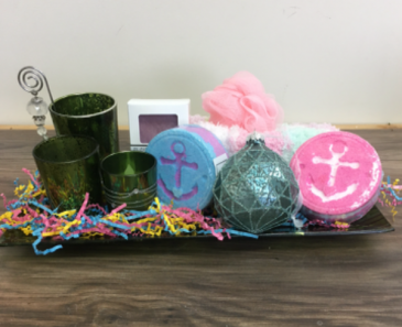 St. John's Soap Works gift basket Gift basket