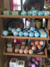 St. John's Soapworks Bath bombs and soaps