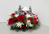 St. Nicolas Circle Christmas Arrangement Christmas