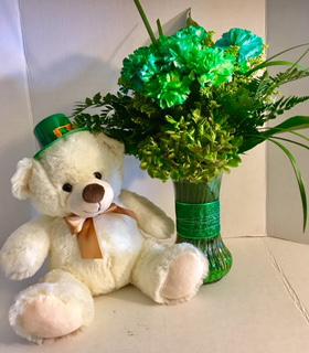 St Patrick's Designer's Choice w Bear Happy St Patrick's Day!