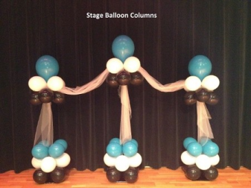 Stage Balloon Columns