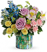 Stained Glass Blooms Bouquet