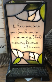 Stained Glass Lantern Giftware