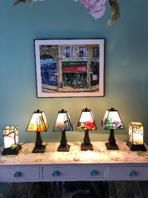 Stained Glass Memorial Lamps