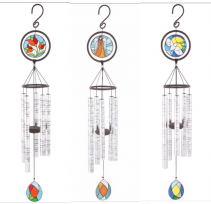 Carson Stained Glass Wind Chimes Keepsake / Inspirational / Gift