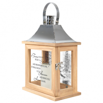 Stairway to Heaven Lighted Lantern with scenery