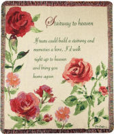 Stairway to Heaven Sympathy Throw
