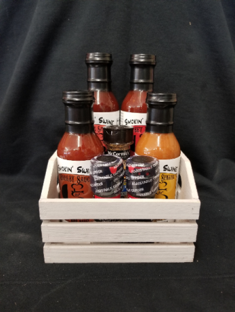 Smokin' Swing Standard BBQ Bundle  Gift Basket